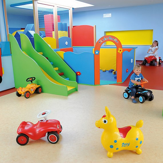 Kinderhotel Zentral South Tyrol play room